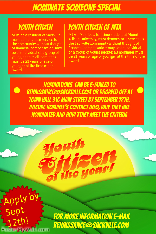 Youth Citizen Poster